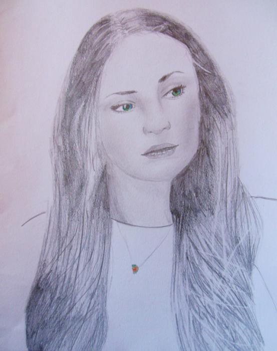Sophie Turner by EvilDream